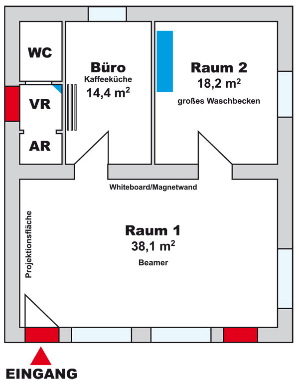 Raumplan Denkwerkstatt 1160 Rosenackerstraße 14