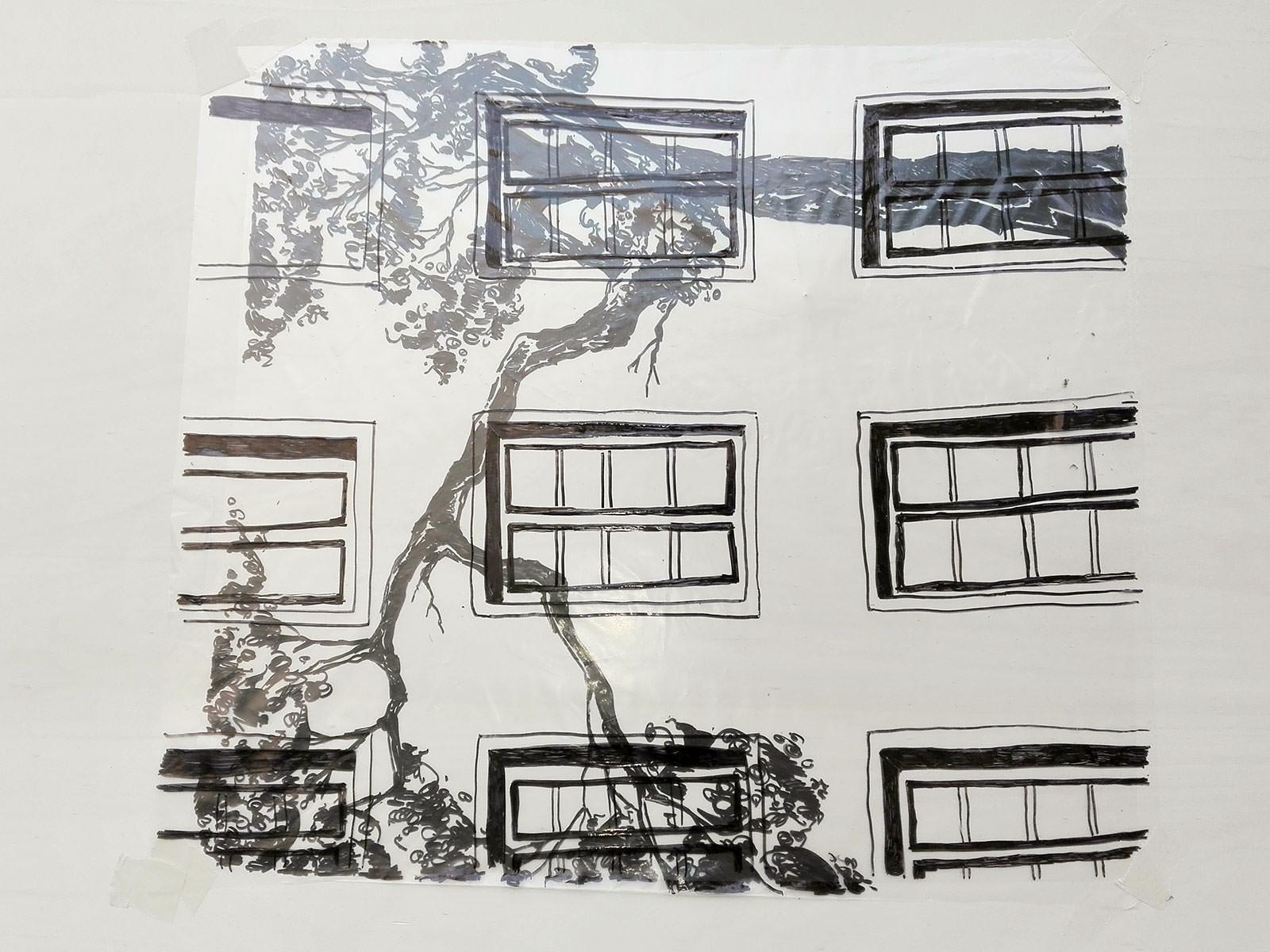 Folienzeichnungen for Grafik praktikum wien