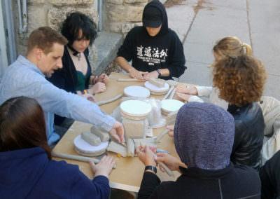 Keramikwerkstätte außen