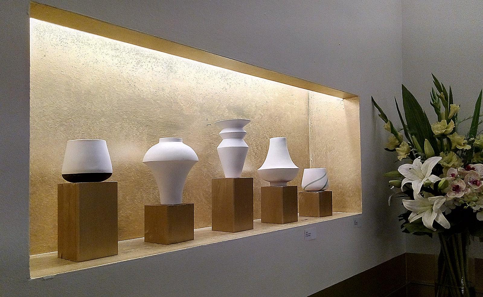 Keramikausstellung Hotel Rathaus Juni 2020, Artina Tabrizi