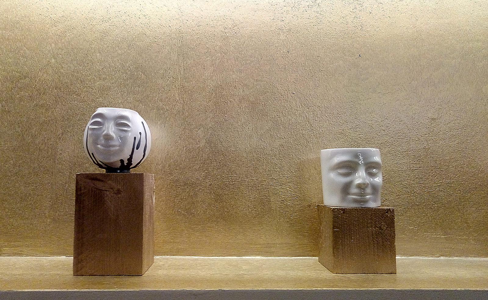 Keramikausstellung Hotel Rathaus Juni 2020 Barbara Lapsys