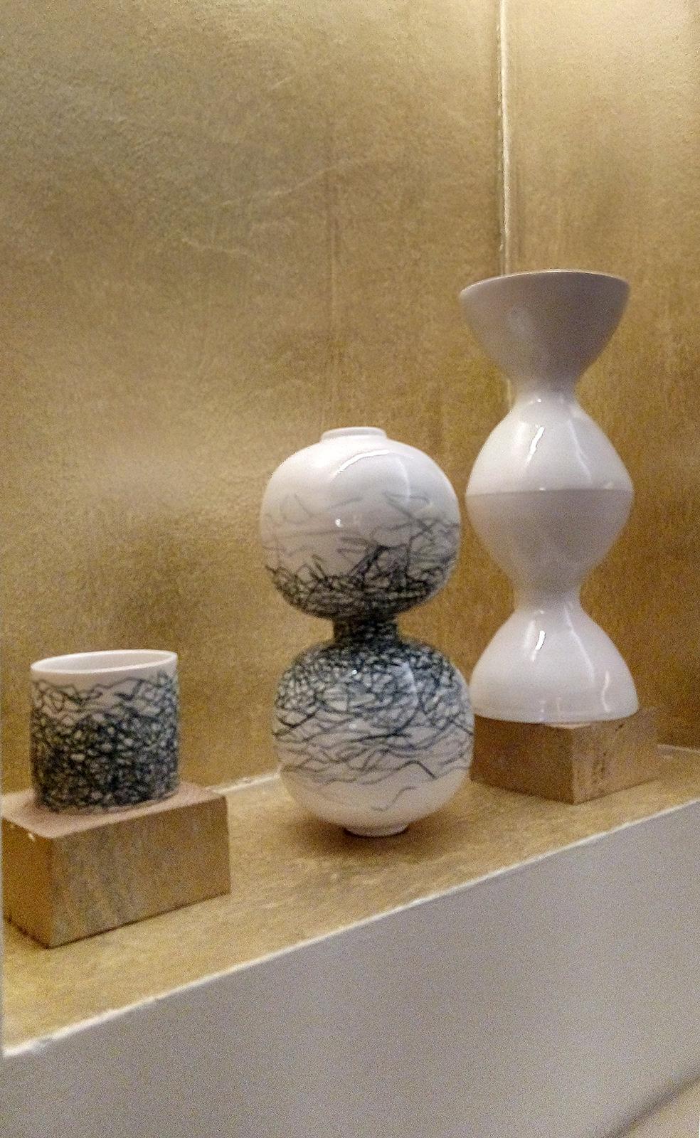 Keramikausstellung Hotel Rathaus Juni 2020 Philomena Fischer