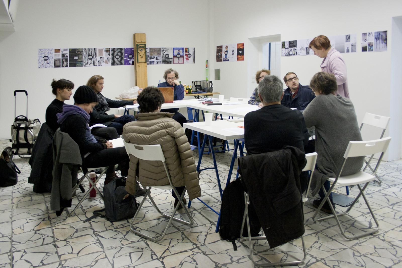 Konferenz kunstschule.wien am 28. Oktober 2015 in der Denkwerkstatt am Rosenacker