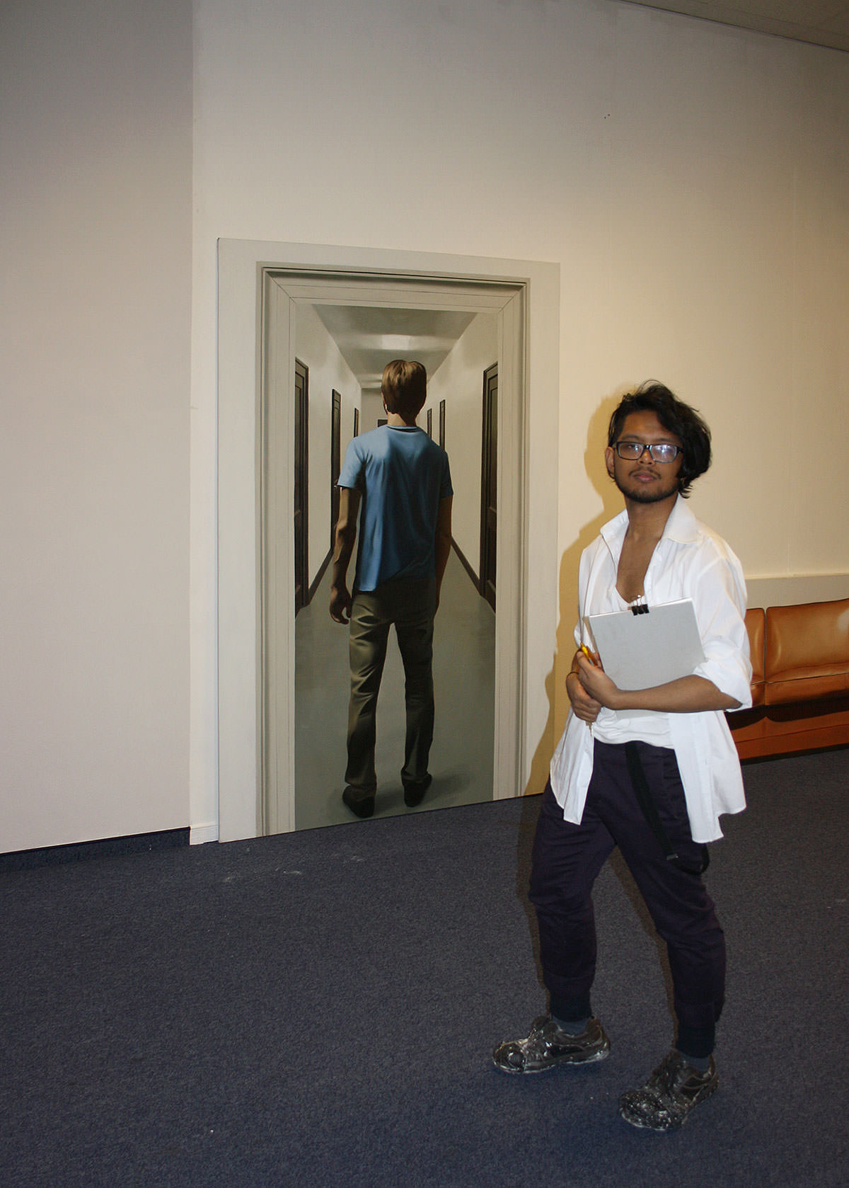 """23.1.2014 """"exit 14"""", kunstschule wien, Foto: Thuma"""
